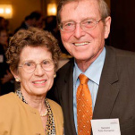 Pete Domenici and his wife, Nancy at the Domenici Neuroscience Symposium